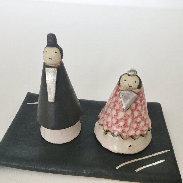 雛人形 c (陶器)の画像1枚目