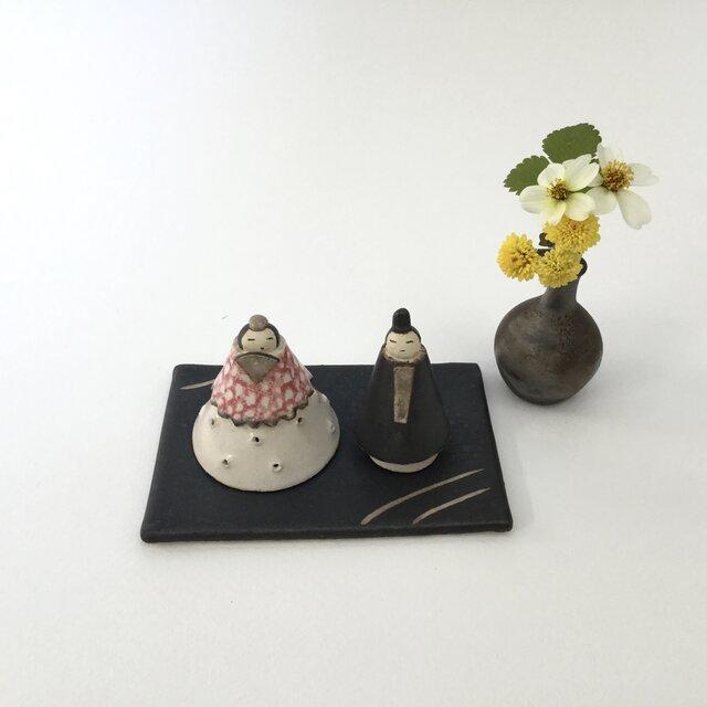 雛人形 d (陶器)の画像1枚目