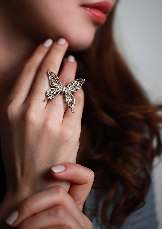 iNG-Swallowtail Butterfly M ringの画像1枚目