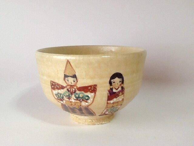 おひなさま茶碗・立雛の画像1枚目