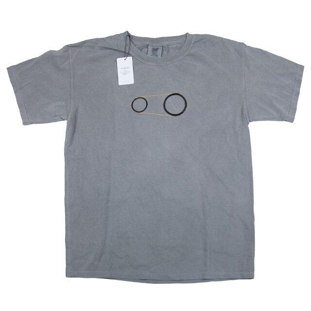 歯車 刺しゅう Tシャツ ユニセックス Tcollectorの画像1枚目