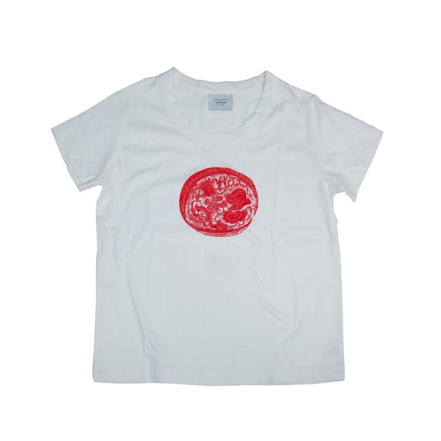 ボディから当店オリジナル! ラーメンTシャツ レディース Tcollectorの画像1枚目