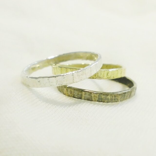 Line ring(シルバー)の画像1枚目
