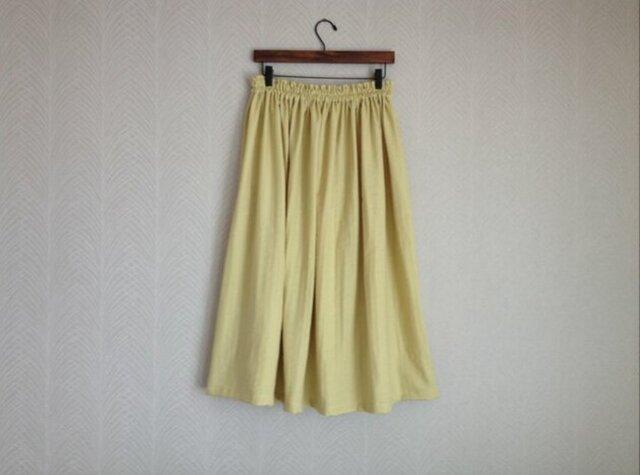 ふわふわWガーゼ・ロングスカート syの画像1枚目
