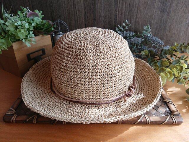 【受注制作】ころんとまぁるい《SASAWASHI》帽子の画像1枚目