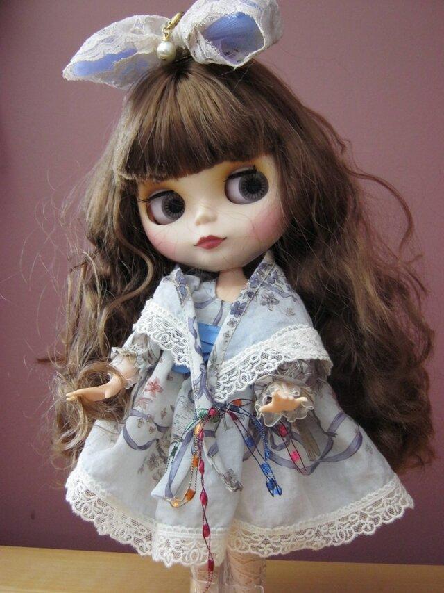 カナダからお届けする、ブライスの為のイギリス製シルクのドレス4点セットの画像1枚目