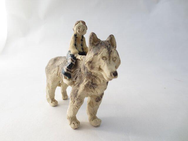 犬のり -ハスキー-の画像1枚目