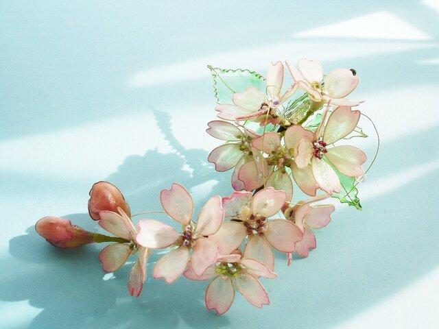 桜の季節(コサージュ)の画像1枚目
