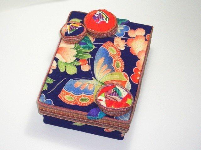 飾り箱 ー 蝶とバラ ーの画像1枚目
