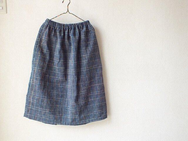 ラオス・ラハナム村の素朴なスカートの画像1枚目