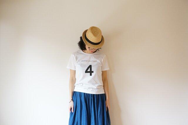 Cotton 4 bonne T-shirt XS,S,M,Lsize OFF/Wの画像1枚目