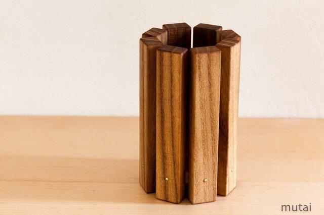 木組みペン立てAの画像1枚目