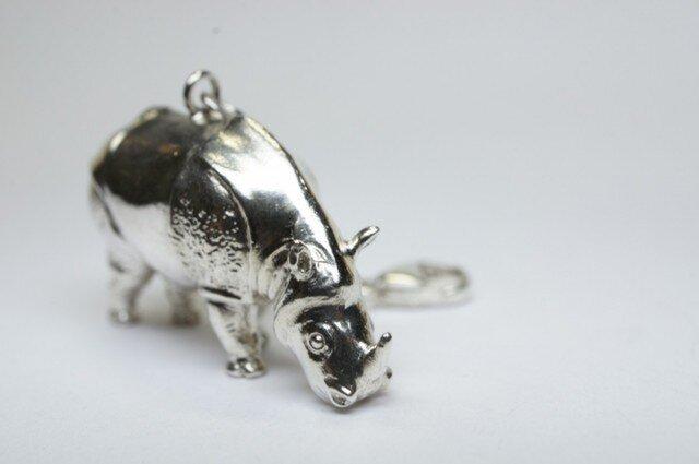 rhinoceros pendantの画像1枚目
