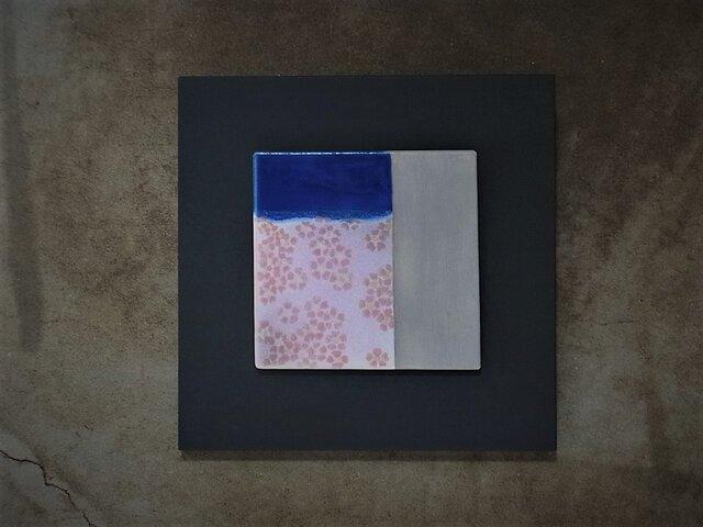 桜 2 (陶板)の画像1枚目