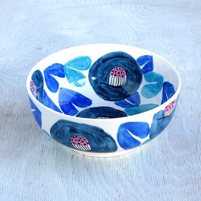 青い椿の鉢 の画像1枚目