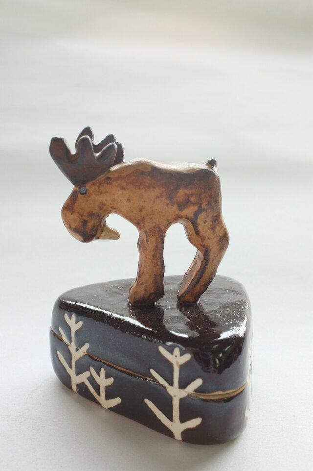 陶ハコ「木立」の画像1枚目