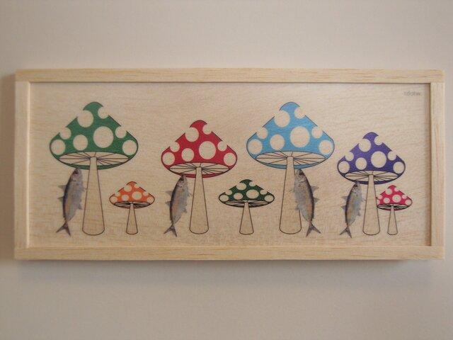 fish and mushroomsの画像1枚目