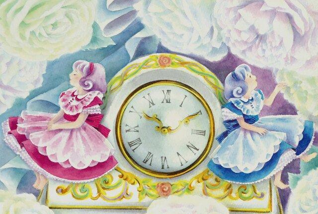4枚組GirlsポストカードNo.2「Flower 10:10」の画像1枚目