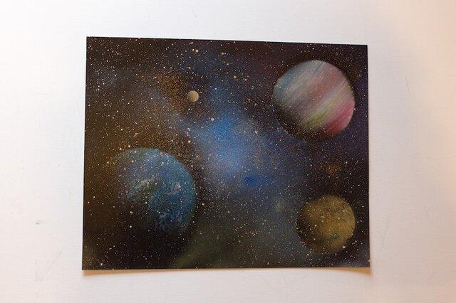 Space (額入り特別作品)の画像1枚目