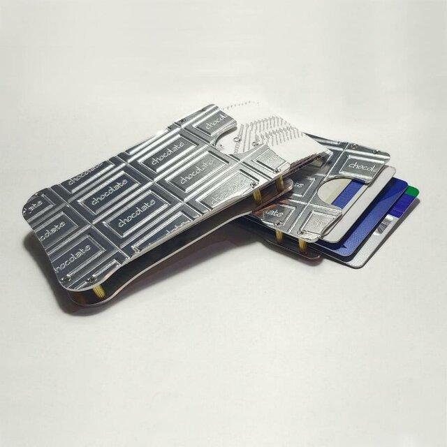 【チョコレート名刺入れ・カードケース】メンズ・レディース / プレゼントにもの画像1枚目