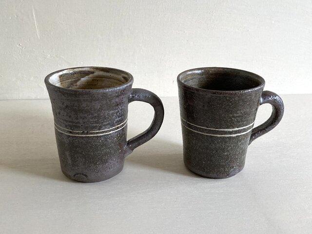 マグカップ〈象嵌ライン〉の画像1枚目