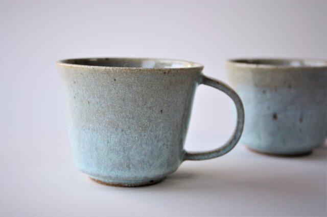 松灰釉マグカップの画像1枚目