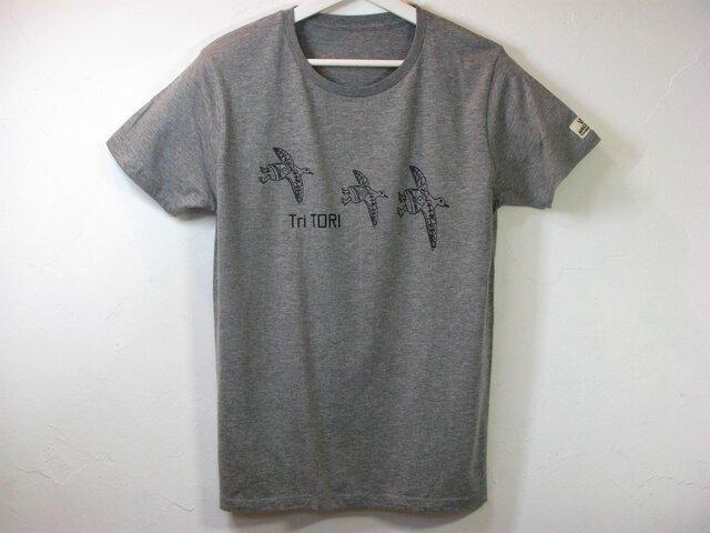 【L】Tri TORI Tシャツ メンズの画像1枚目