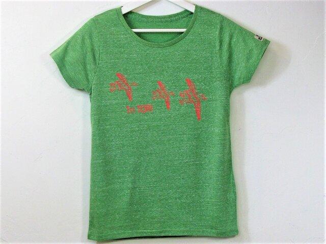 【L】Tri TORI Tシャツ レディースの画像1枚目