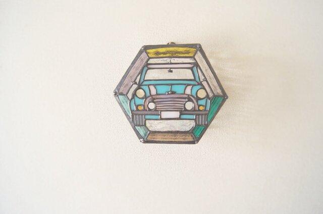 ミニクーパーの壁掛けランプの画像1枚目