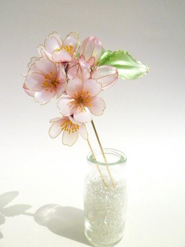桜簪:花明かりーhanaakariーの画像1枚目