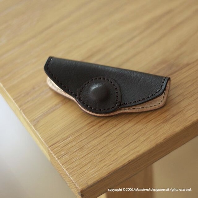 革袋S.M.専用持ち手カバー・ブラウンの画像1枚目
