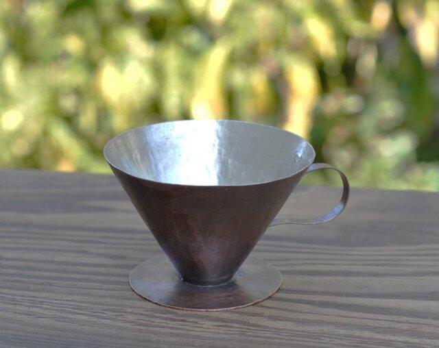 銅製コーヒードリッパー V60フィルター用の画像1枚目