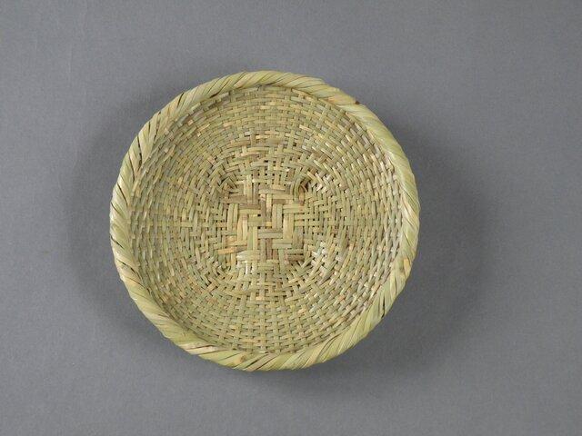 蕎麦ざる 盛り皿 根曲り竹の画像1枚目