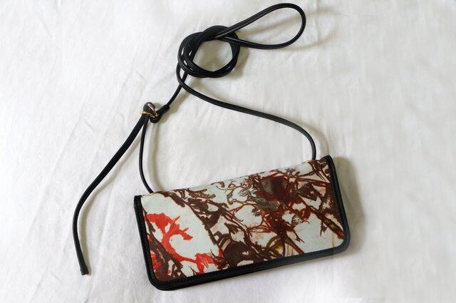 絞り染めLEATHERお財布bag-Raiz #RA000ご紹介ページの画像1枚目