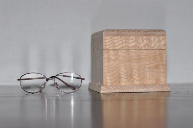 塩地ちじみ杢小箱の画像1枚目