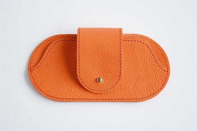 【受注生産】 サングラスケース (orange)の画像1枚目