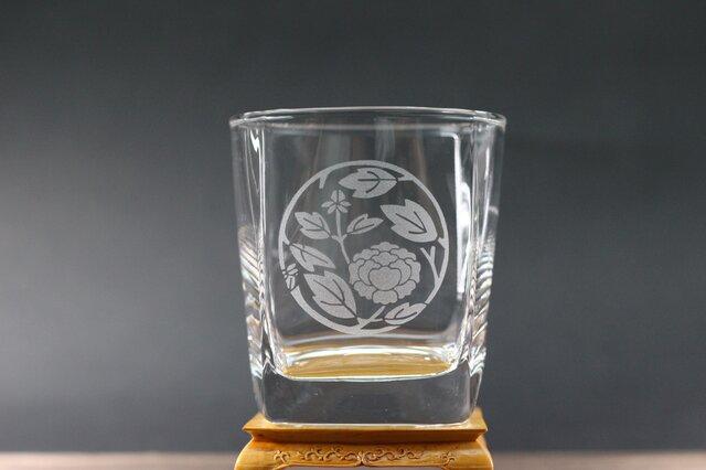 ロックグラス 牡丹枝丸の画像1枚目