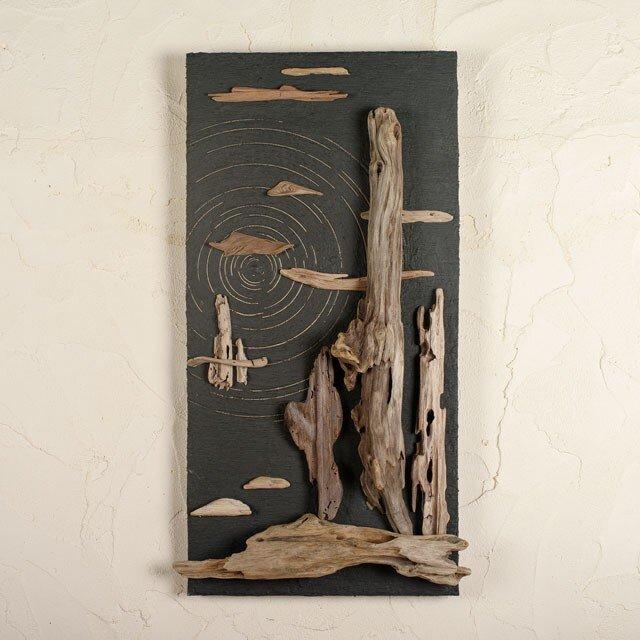 流木で描く山水画(S saiz) #5の画像1枚目
