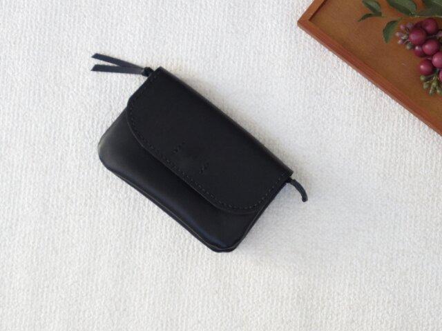 (再販)柔らかなお財布(Black)の画像1枚目