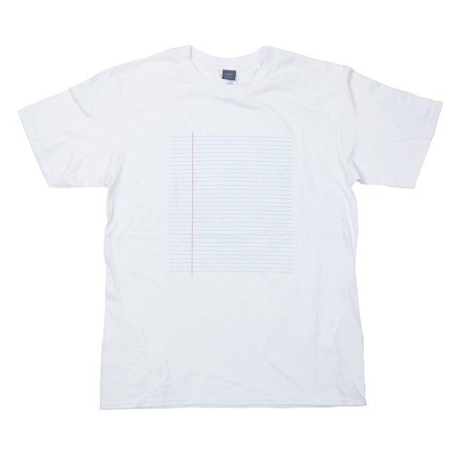 外国のノート デザインTシャツ ユニセックスS〜XL/レディースS〜Lサイズ Tcollectorの画像1枚目