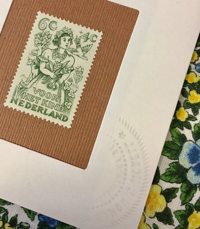 ちいさなartmuseum holland stamp の画像1枚目