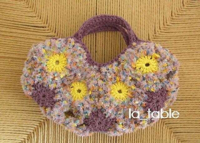 花たくさんのバッグ bébé「CONFETTI」の画像1枚目