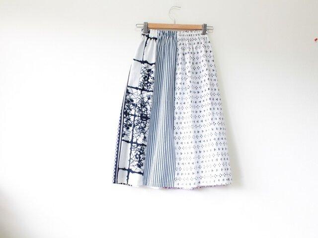 ☆浴衣スカート☆ パッチワーク6枚♪の画像1枚目