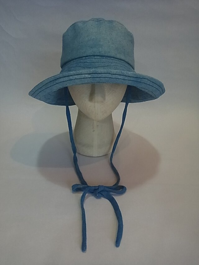 sold out 日よけの大きな帽子=27=の画像1枚目