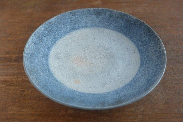 インディゴ 丸皿 土星 7寸の画像1枚目