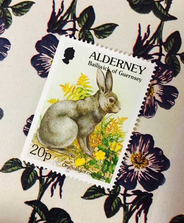 ちいさなartmuseum ALDERNEY stamp の画像1枚目