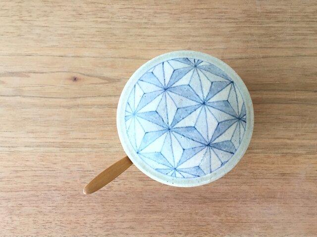 シュガーポット 幾何紋の画像1枚目