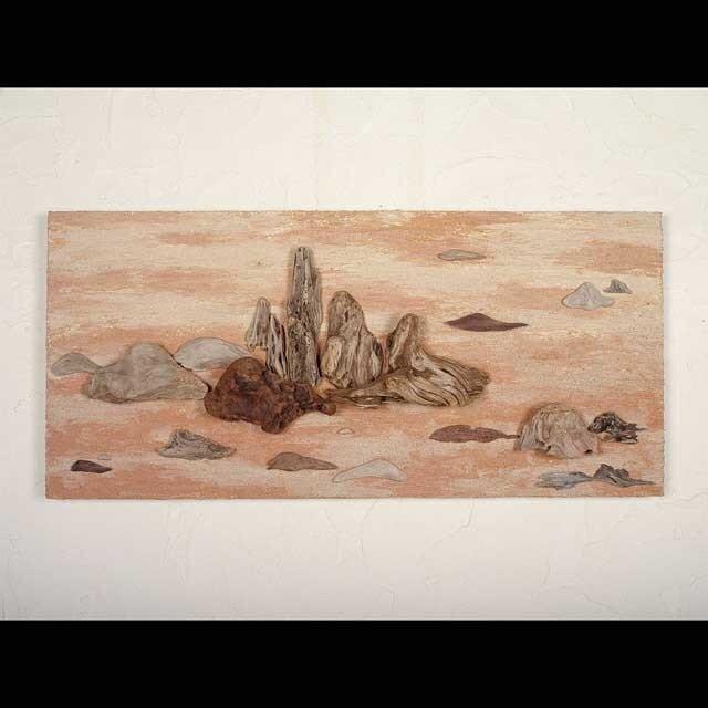 流木で描く山水画(L saiz) #16の画像1枚目