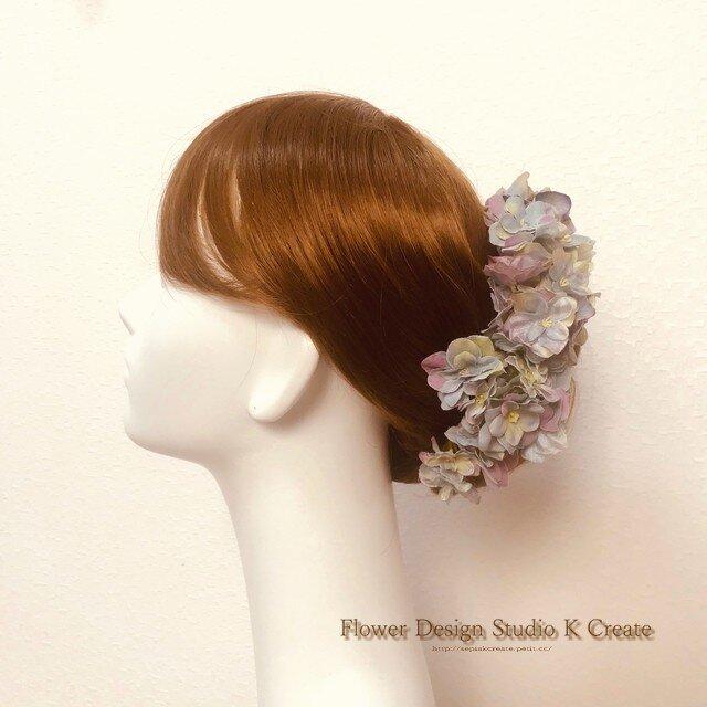 ウェディングに♡6月の紫陽花のUピン(7本セット)の画像1枚目