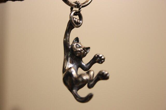 猫のキーホルダーの画像1枚目